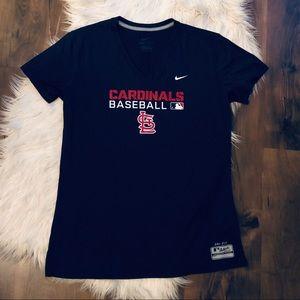 Nike Dri-Fit Cardinals Baseball Tee Shirt